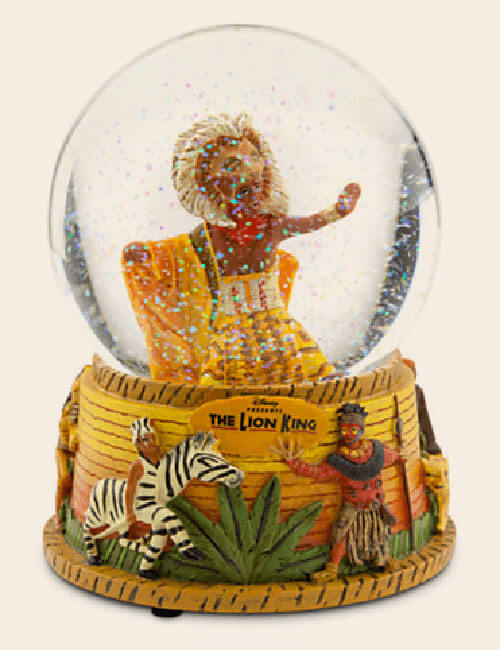 The Lion King snow globe